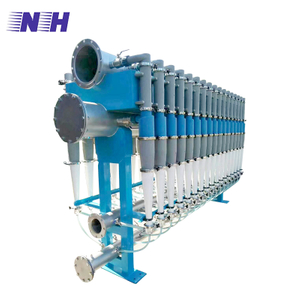 Paper pulp process equipment slag remover desander remove sand iron dust ink particles with stainless steel and cast steel material